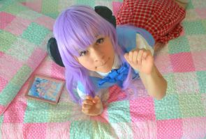 Hanyuu Furude: Kawaii Kandy by thecreatorscreations