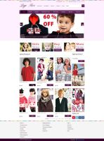E-commerce Kids fashion Website by Mughalkamran