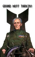 Grand Moff Tarkin by JumpinSoraa