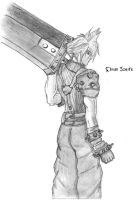 Cloud Strife by goldvicblest