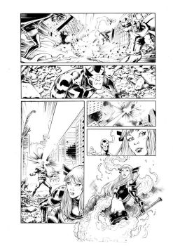 Uncanny X Men sample page 3 by MikaelNoon92
