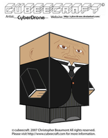 Cubeecraft - Strax 'Doctor Who' by CyberDrone