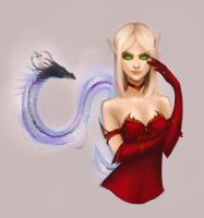 Blood elf by Mashiiro