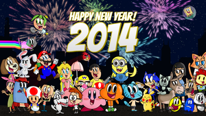 New Years 2014! by cartoonsbykristopher