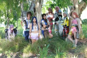 Final Fantasy XIII-2 Group by GunnerYunie