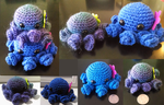 Crochet Octopi by WashiChiisai