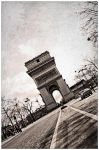 arc of triomphe vintage by salleephotography