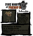 .:Five Nights at Freddy's:.:Ozzy the Hedgehog:. by Xbox-DS-Gameboy
