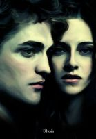 New Moon-Edward and Bella by Dhesia