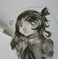 .:COPIC ILLUSTRATION:. #1 by Icequeen678