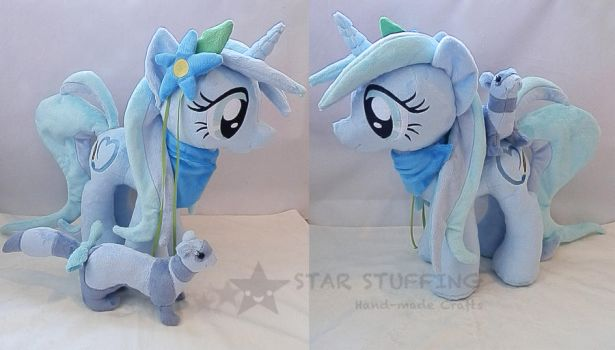 Ocean Blossom and Dipstick by StarMassacre