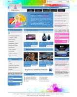 eCommerce layout by alwinred