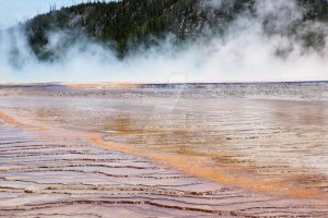 Boiling Water in Yellowstone National Park by PirateGrrrl