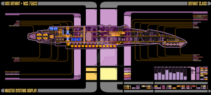 USS Defiant MSD by Bmused55