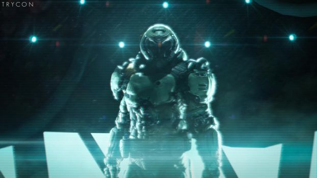 The Doomslayer by Trycon1980