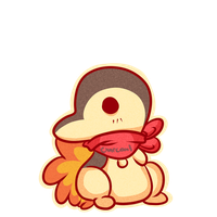 cyndaquil chibi for Insolent-Devil by Chibi0Wolfie