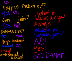 iscribble: Written crack RP by Coricle