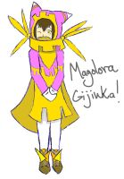 Request: Gijinka Magolora by latiaskirby