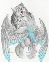 Wolf lovers by Iris-Cougar