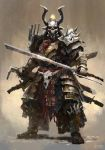 Post Apocalyptic Samurai by Mac-tire