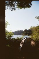 Lake Merwin camping by chuginkoolaid13ROCKZ