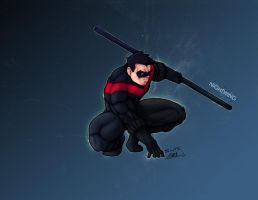 Hero #2: Nightwing by KHAN-04