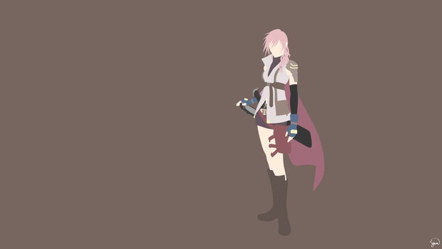 Lightning (Final Fantasy) by greenmapple17