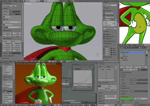 Superfrog 3D by zgodzinski