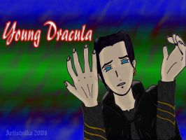 Young Dracula of Van Helsing by ArtistNiko