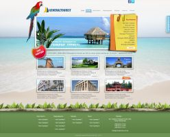 Web Design for Travel Agency by Elena3