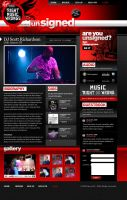 Virgin Unsigned Music Site by scottrichardson