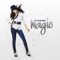 Selena Gomez 'Magic' Cover by mikeygraphics