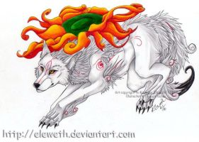 Amaterasu by Eleweth