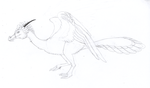 Plumed Drake concept sketch by SlateGray