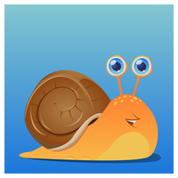 Cute Snail by LosingSarah