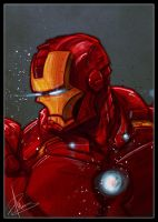 Iron-Man (Sketch Dailies) by patrickianmoss