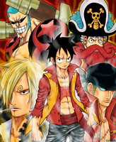 One Piece Movie Z by sirwen11