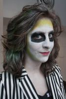 Beetlejuice Closeup by funygirl38