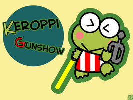Keroppi Gunshow by JRHill
