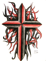 Tentacle Cross by Xundra