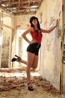 Charis - red in ruins 1 by wildplaces