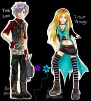 Teddy Lupin Victoire Weasley by vJamesLily