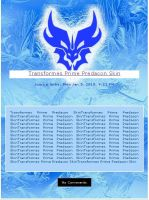 Transformers Prime Predacon CSS- Commission by Pascua-Tanya