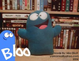 Fosters Home Bloo Plush Doll by Yakkomia