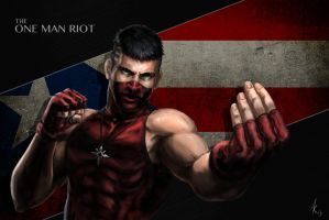 The One Man Riot by Alamus