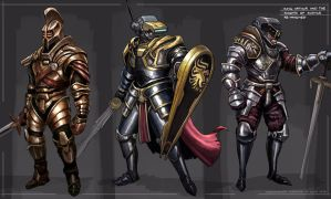 King Arthur and the Knights of Justice by freakyfir