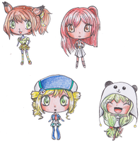 :CP: Chibi Batch by MimiStars
