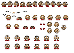 Jeff The Goomba Sprite sheet by KingAsylus91