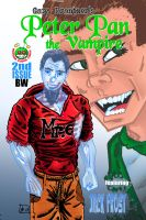 Peter Pan the Vampire 02 BW Cover by rentnarb