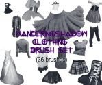 WS Clothes 1 brush set by DestroyingAngels